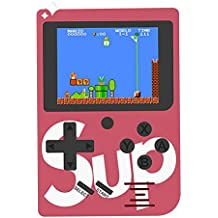 "[2018 Newest] Handheld Game Console - LEEGOAL 2.4"" Color Screen Retro Game Console Built-in 129 Classic Games, TV PC Output Portable Video Game Console Arcade System Birthday Gift For Kids"