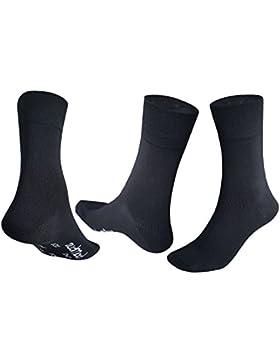 5-10 Paar Bambus-Socken-Herren-Damen | Strümpfe Schwarz Weiß Beige Braun Blau Anthrazit | Stoff Viskose ✓ Venenfreundlich...