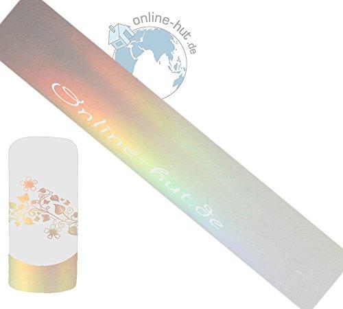 Transferfolie Transparent Milchig-Schimmer Hologramm