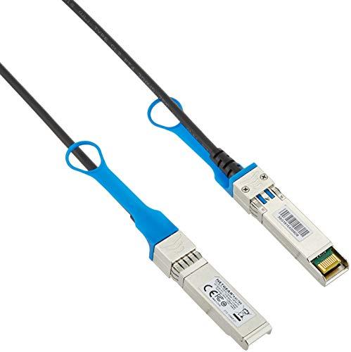 Netgear AXC765-10000S Direct Attach Active SFP plus DAC Kabel, 5 m Schwarz (Rackmount-router Wireless)