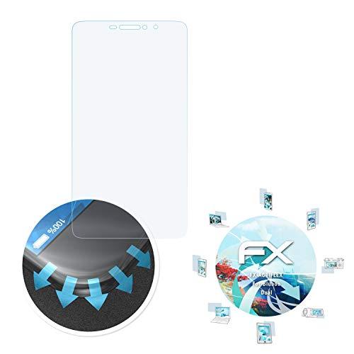 atFolix Schutzfolie passend für Bluboo Dual Folie, ultraklare und Flexible FX Displayschutzfolie (3X)