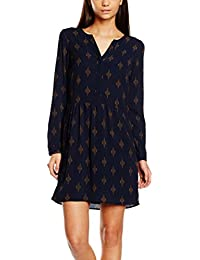VERO MODA Damen Kleid Vmibi Ethnic L/S Short Dress Lcs