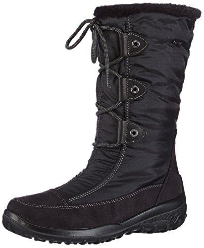Gabor Shoes - Stivali con caldo rivestimento interno, Donna Nero (Schwarz (schwarz (Webl.)))