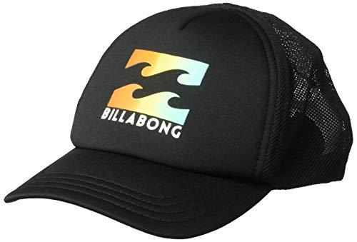 BILLABONG Jungen Podium Trucker Schirmmütze, Black/Yellow, One Size -