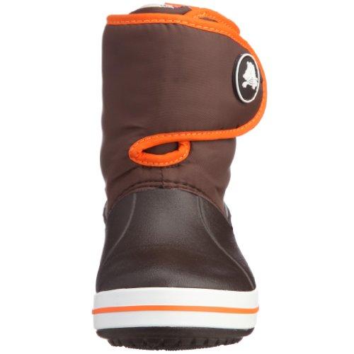 Crocs Crocband Gust Boot Kids, Boots mixte enfant Marron (Espresso/Orange)