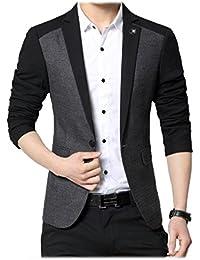 Beetle Men's Slim Fit Blazer Multicolour_Medium