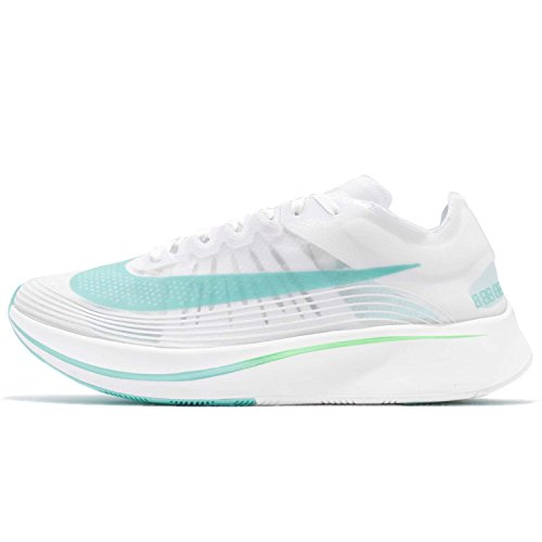 release date: 029d0 ca5ab Nike Mens Zoom Fly SP Lightweight Trainer Running Shoes White 8.5 Medium (D)
