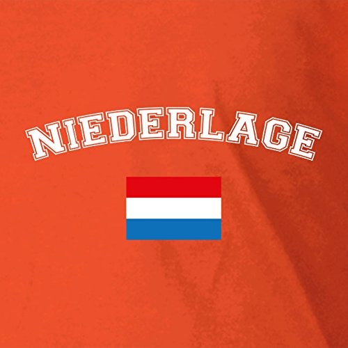 Oranje Niederlage - Stofftasche / Beutel Rot