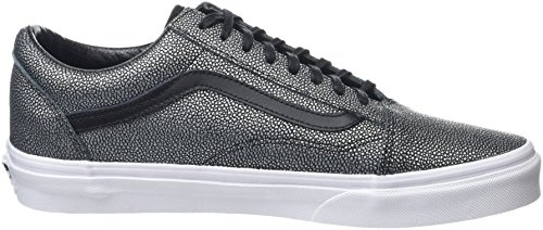 Vans Old Skool Scarpe da skater, Basse, Unisex, Adulto Nero (Embossed Stingray black)