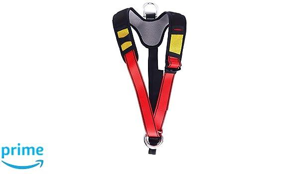 Klettergurt Brustgurt Verbinden : Yundxi professionell oberkörper klettergurt halb auffanggurt mit