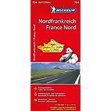 Frankreich Nord (Michelin Nationalkarte)