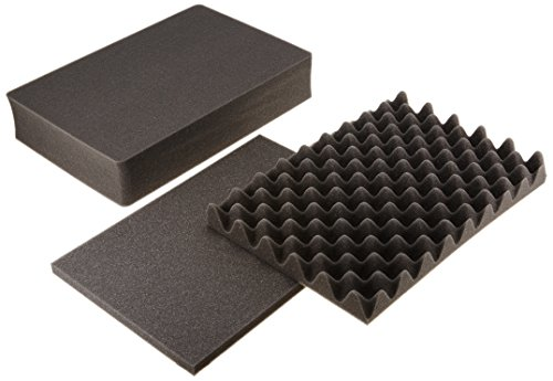 Pelican Produkte 1500–400–000Pelican 15013Ersatz-Schaumstoffeinlagen für Pelican 150x Fällen (schwarz)