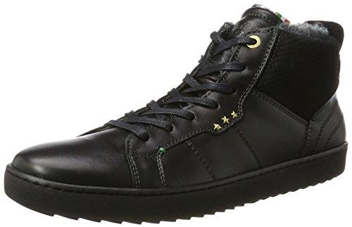 Pantofola dOro Canaverse Uomo Fur Mid, Sneaker Alte Uomo nero (nero)