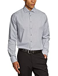 Schwarze Rose Herren Slim Fit Businesshemd SHARK 229497