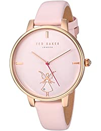 c6b7549fbb03 Ted Baker Women s Analog Quartz Watch with Leather Strap TE15162004