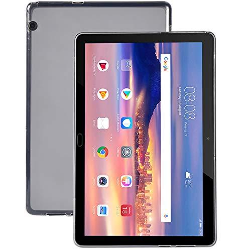 cover silicone tablet 10.1 Lobwerk Custodia per Huawei MediaPad T5 10 con 10.1 Pollici Custodia Slim Case Cover Ultra Sottile Antiurto Trasparente Trasparente