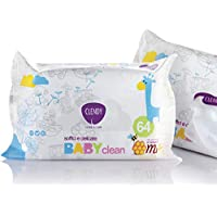 Baby Clean 64 Wipes With Honey