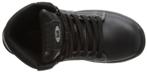 Sir Safety Ankle High Fobia, Chaussures de sécurité femme Noir - noir