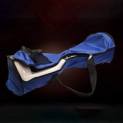laonBonnie Tragbare Oxford-Stoff-Hoverboard-Taschen-Sport-Handtaschen für selbstabgleichende Auto-8-Zoll-Elektroroller-Tragetasche - Schwarz