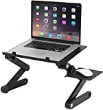 FWQPRA® T8 Table for Laptop Stand for Bed and Sofa, Desk Portable Adjustable