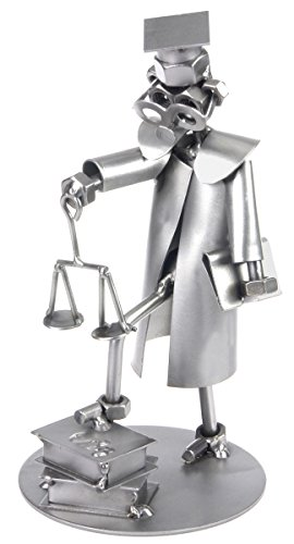 Schraubenmännchen Rechtsanwalt I Handarbeit I Geschenkidee I Metallfigur I Metallmännchen I Stahlfigur I Schraubenmännle