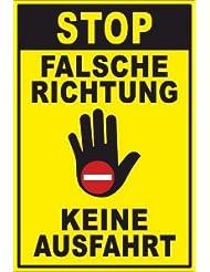 20cm verboten Schilder 29,5cm 2mm von SchwabMarken Viele verschiedene Ausfahrt Einfahrt freihalten 1 St/ück