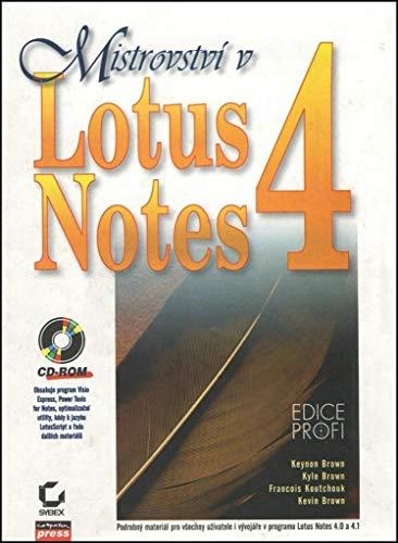 Mistrov. Lotus Notes 4 CD ROM -