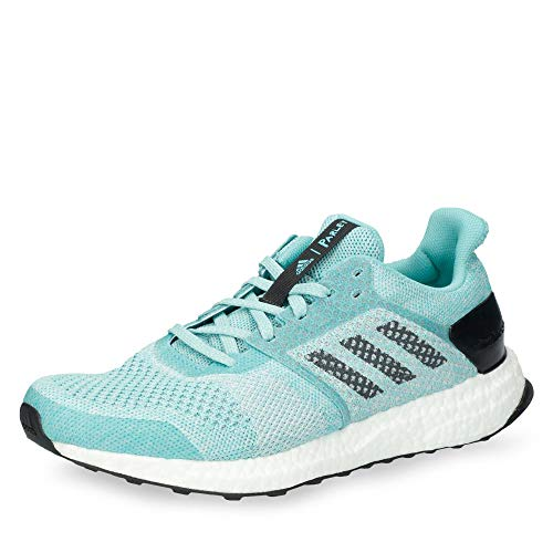 adidas Damen Ultra Boost ST Laufschuhe, Blau Hellblau/Weiß, 42 EU