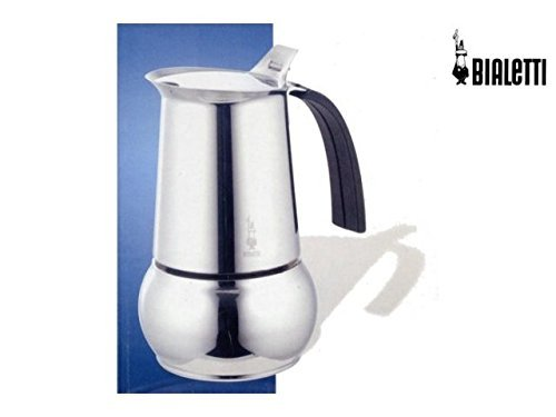 Bialetti Black Kitty 10 Negro, Acero inoxidable (Color Negro, Acero inoxidable)