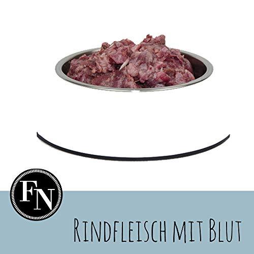 Frostfutter Nordloh > Rindfleisch mit Blut < 40 x 500 g (20 kg), Barf Hundefutter gefroren, Frostfleisch-Paket, Gefrierfutter-Set für Hunde, Barf Frischfleisch