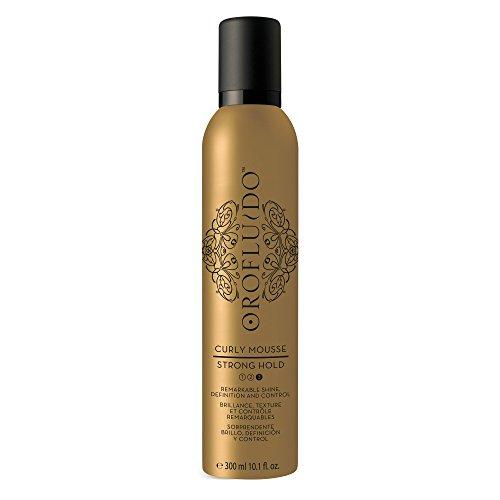 Orofluido Curly Mousse Haarschaum Mittlerer Halt für Lockiges Haar, 1er Pack (1 x 300 ml)
