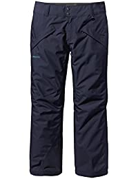 Patagonia - caliente para hombre pantalones de nieve (dunkelbau) shell - S