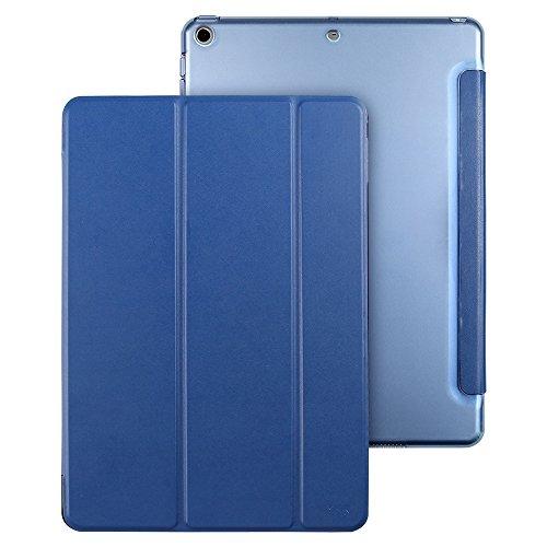 Coque iPad 2018, Coque iPad 2017 Bleu, ESR Nouvel iPad 2018 / 2017 9,7 pouces Smart Cover Case Housse Étui de Protection Rigide Utlra Fin avec Support...