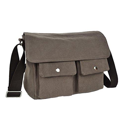 Koreanischen Herren Canvas Tasche/Einzigen Diagonalen Umhängetasche/Lässigen Vintage-Tasche/Männer Mode-Taschen-A A