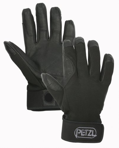 Petzl Erwachsene Handschuhe Cordex, Schwarz, M, K52 MN