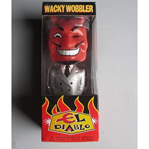 igur EL Diablo Kostüm grau selten Devil Teufel Figur ()