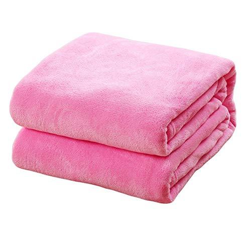 me, weiche und leichte Fleece-Decke für Sofa, Einzelbett, Doppelbett, Reisen, Auto, Überwurf, Decke für Zuhause Dekoration - Pk ()