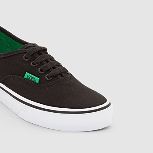 Vans Authentic, Baskets Basses Mixte Enfant Noir (Sport Pop/Black/Kelly Green)