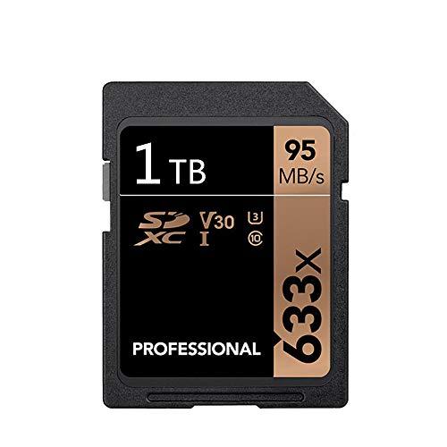 1 TB SD-Karte, Professional 633 x Klasse 10 SDHC UHS-II U3   SD-Karte Kompatible Computerkameras und Camcorder SD-Speicherkarte Bis zu 95 MB/s