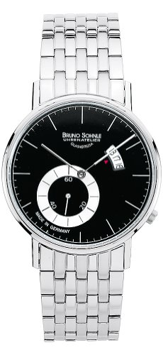 Bruno Söhnle Unisex Analogue Watch with Multicolored Dial Analogue Display and Stainless steel plated silver - 17-13053-742