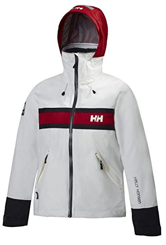 Helly Hansen Damen Segeljacke Salt, White, XS, 30283
