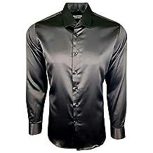 timeless design f4e57 06ebf Amazon.it: camicia seta uomo - Spedizione gratuita via Amazon