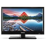 Medion LIFE P13448 47,0 cm (18,5 Zoll HD) LCD-Fernseher (HD Triple Tuner inklusive DVB-T2, DVB-T2 HD Antenne, Car-Adapter, integrierter Mediaplayer) schwarz