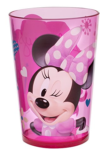 Zak! Designs Minnie Mouse Plastic Tumbler, 14.5-Ounce by Zak Designs