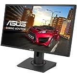 Asus MG248Q 61,0 cm (24 Zoll) Monitor (Full HD, 3D-Fähig, DisplayPort, 144 Hz, 1ms Reaktionszeit) schwarz