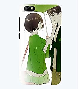 Printvisa Premium Back Cover Romantic Couple On A Rainy Day Design For Huawei Honor 4X::Huawei Glory Play 4X