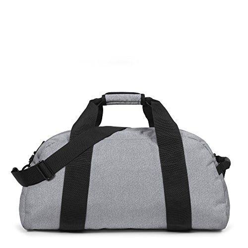 Eastpak Station Borsone, 57 Litri, Nero (Black) Grigio (Sunday Grey)