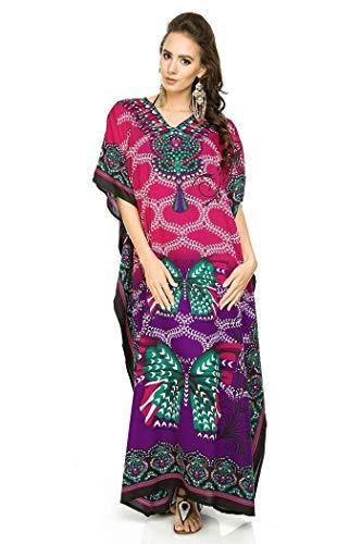 Looking Glam Nuevo Mujer Grande Maxi Kimono Túnica