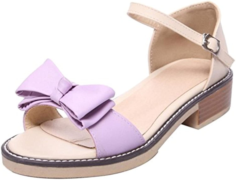 Coolcept Mujer Punta Abierta Sandalias Zapatos