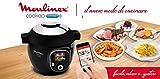 Moulinex Cookeo Multicooker Intelligente mit App Connect bluethoot und 150 Rezepten